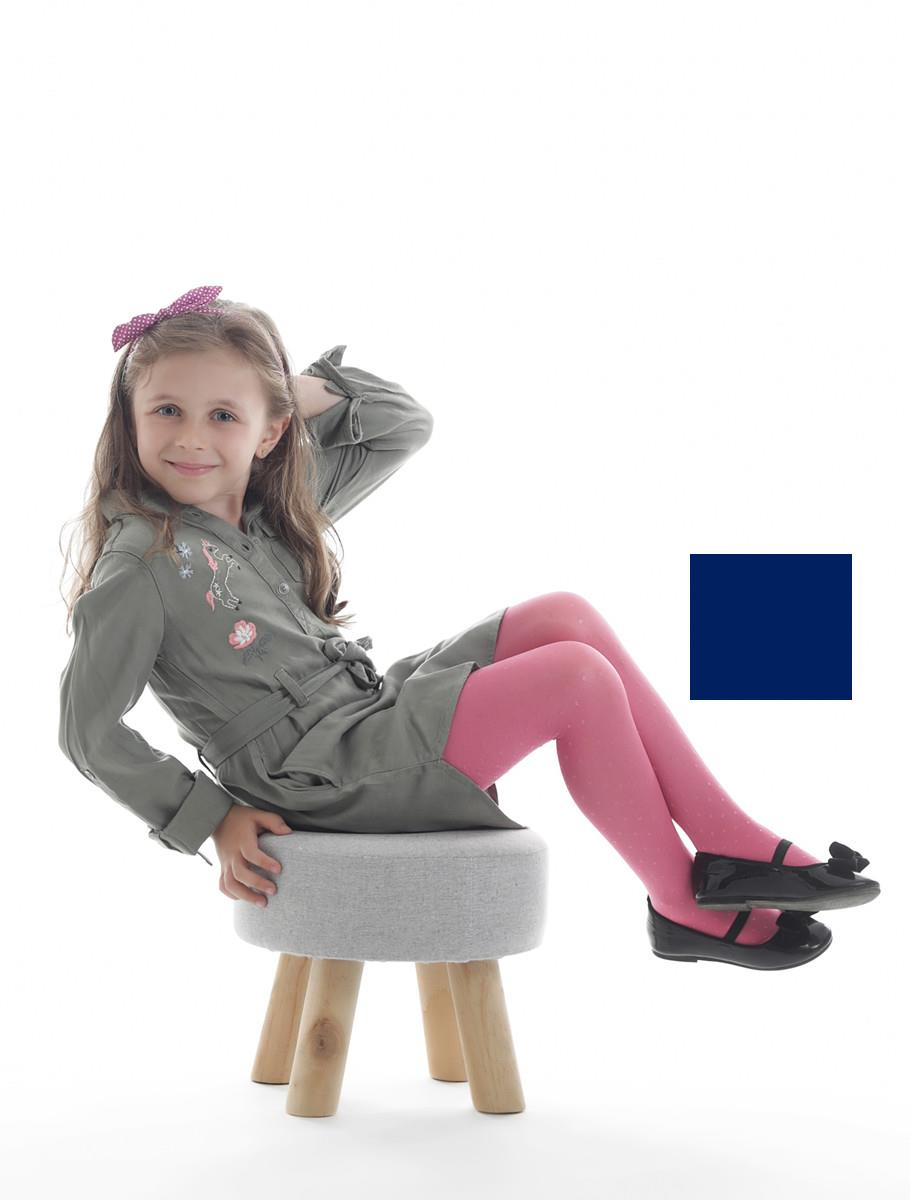 DOTTED GIRL BLUE 40 DEN