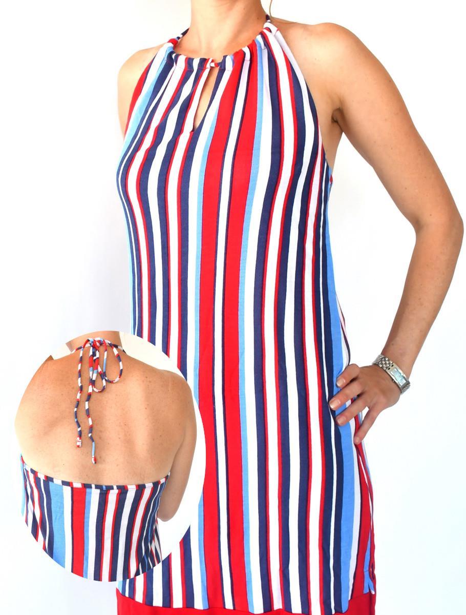 ELEGANT STRIPES DRESS