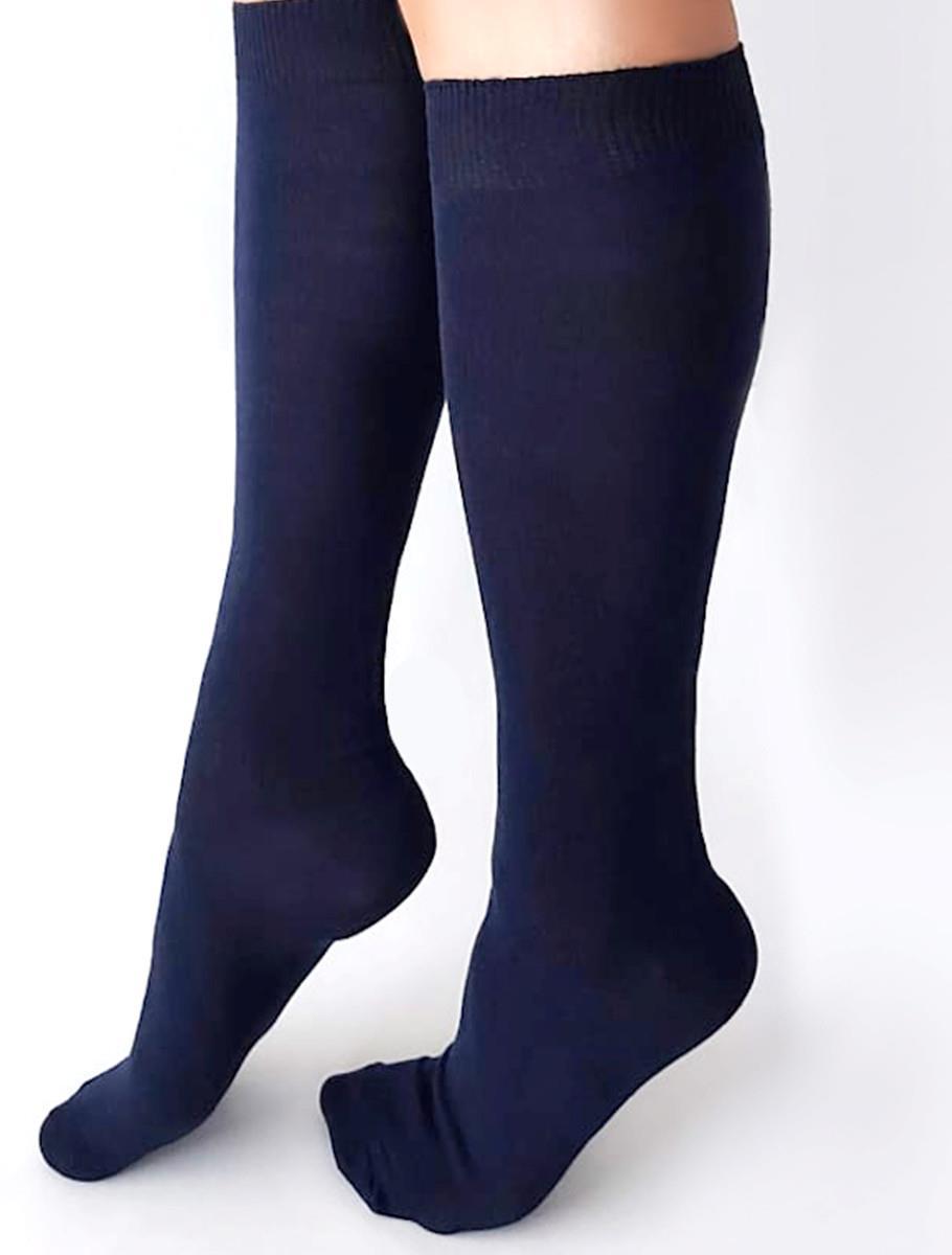 LONG SOCKS BLUE