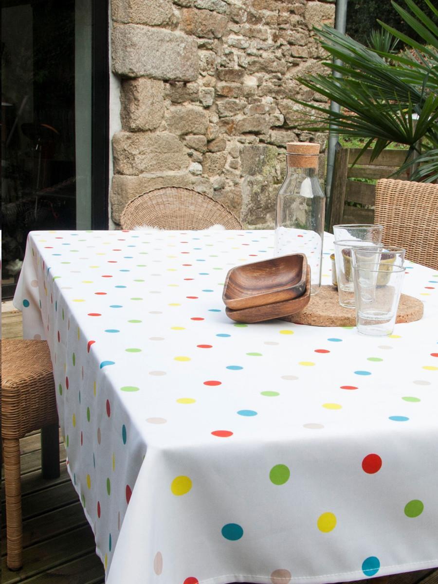 MULTICOLOUR TABLE CLOTH