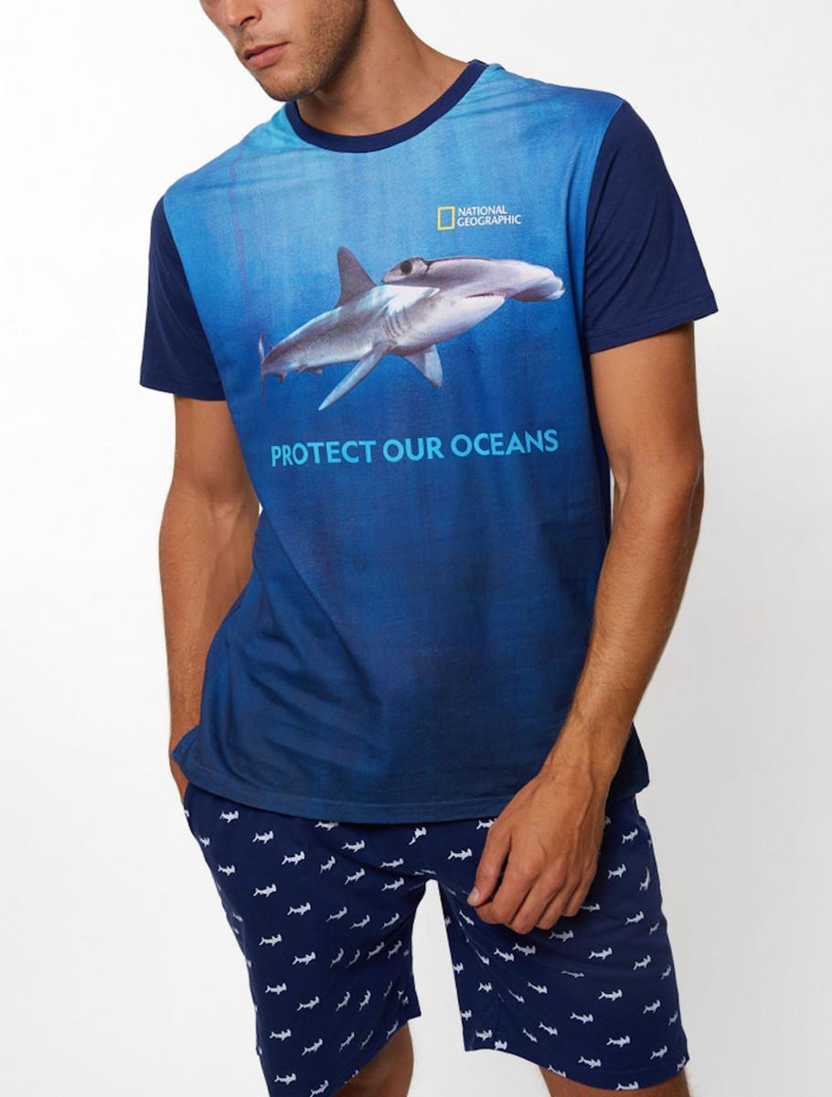 OCEAN SHARK MAN PIJAMA
