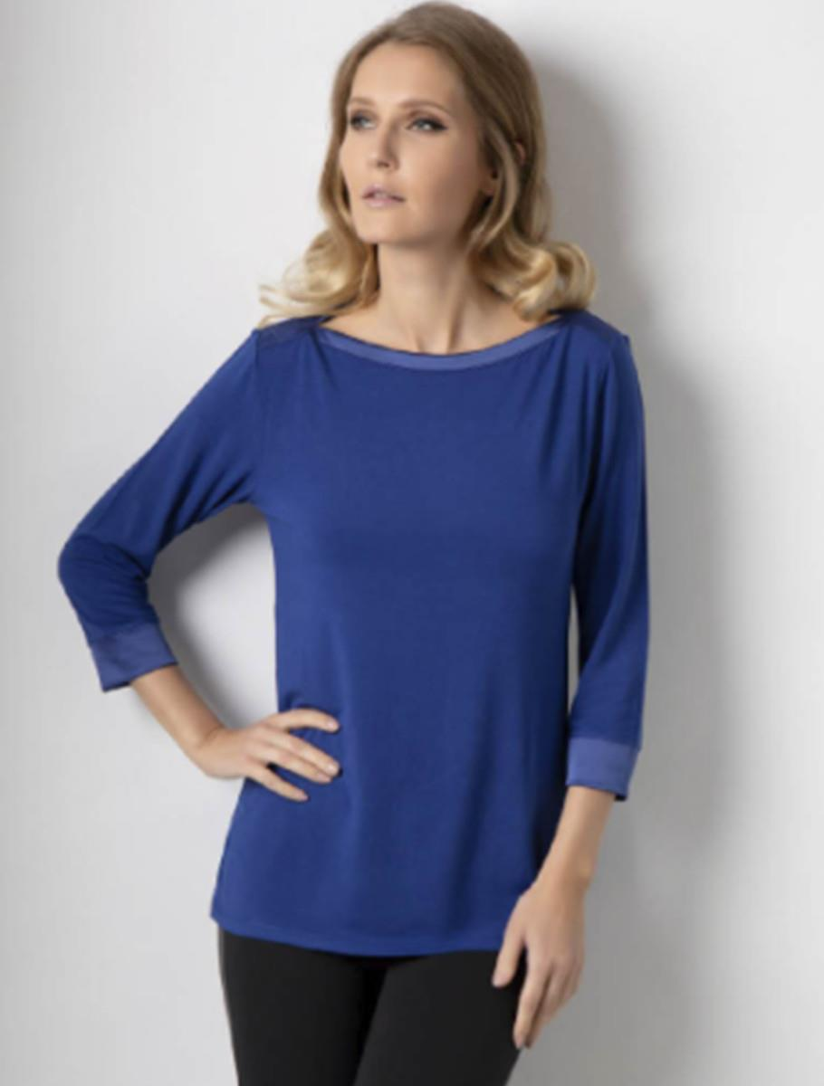 RAFINATED BLOUSE BLUE