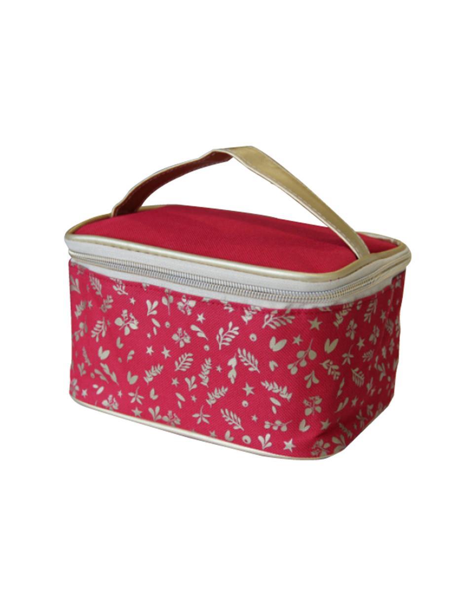 RED VANITY COSMETIC BAG
