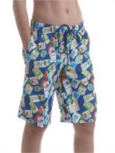BOY SWIM SHORT TRAVELER BLUE | Escapade Fashion