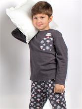 BOY WINTER DESIGN GREY | Escapade Fashion