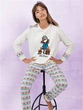 CASUAL BEIGE FOX PRINT | Escapade Fashion