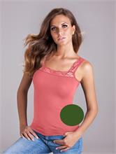 CASUAL LACE MILITARY GREEN   Escapade Fashion