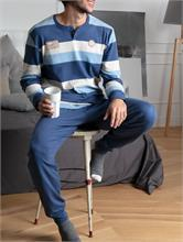 COMFY COTTON STRIPES BLUE   Escapade Fashion