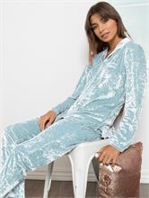 COSY VELVET LIGHT BLUE | Escapade Fashion