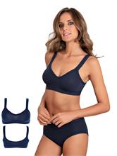 COTTON BRA NAVY | Escapade Fashion