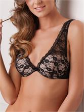 ELEGANT LACE SUPPORT BLACK | Escapade Fashion