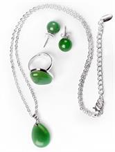 FEMININE SET GREEN   Escapade Fashion