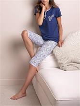FLORET PIJAMA BLUE | Escapade Fashion