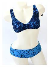 FLOWER SWIMSUIT BLUE | Escapade Fashion