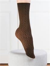 GEOMETRIC MICRO MUSTARD 50 DEN | Escapade Fashion