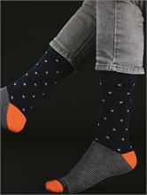 HAPPY SOCKS  DARK BLUE | Escapade Fashion