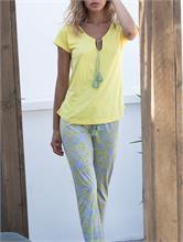 HIPPY PIJAMA YELLOW | Escapade Fashion