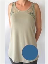 JESSICA TOP BLUE | Escapade Fashion