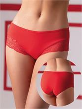 LACE DETAILS RED | Escapade Fashion