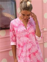 LEAVES DRESS FUCSIA | Escapade Fashion