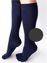 LONG SOCKS GREY   Escapade Fashion