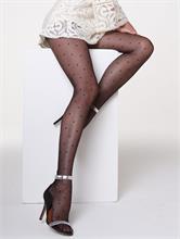 MINI DOTS LYCRA BLACK 20 DEN | Escapade Fashion