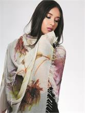 MODAL FLOWERS NATURAL | Escapade Fashion