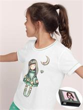 MOON PIJAMA GIRL WHITE | Escapade Fashion