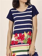 NAVY FLOWER DRESS | Escapade Fashion