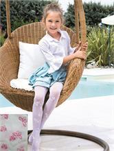 OLGA WHITE FUCSIA BUTTERFLY 40 DEN | Escapade Fashion