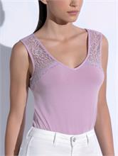 PASTEL LACE TOP LILLA | Escapade Fashion
