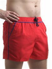 PLUS SIZE SWIM SHORT NAUTILUS RED | Escapade Fashion