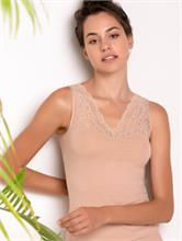 PURITY LACE UNDERSHIRT NUDE | Escapade Fashion