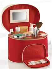 RED COSMETIC BAG | Escapade Fashion