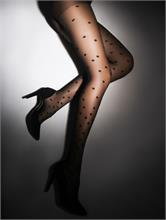 SENSUAL DOTS BLACK 20 DEN | Escapade Fashion