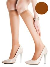 SOSETE SET 2 KNEE HIGH SUNNY BEIGE 15 DEN | Escapade Fashion