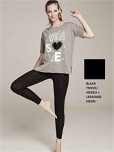 SET CHIC FITNESS BLACK | Escapade Fashion
