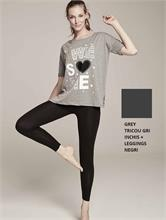 SET CHIC FITNESS GREY | Escapade Fashion