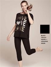 SET FITNESS GIRL BLACK | Escapade Fashion