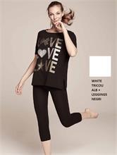 SET FITNESS GIRL WHITE | Escapade Fashion