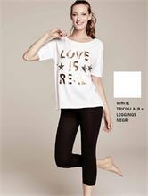 SET FITNESS LOVE WHITE | Escapade Fashion