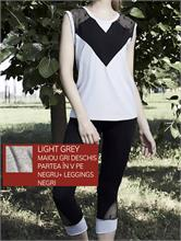 SET NEW FITNESS LIGHT GREY | Escapade Fashion
