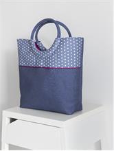 SHOPPING BAG NAVY | Escapade Fashion