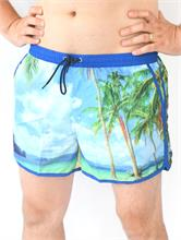 SWIM SHORT HAWAY BLUE | Escapade Fashion
