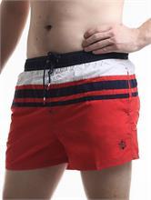 SWIM SHORT SAND RED | Escapade Fashion
