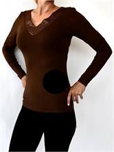 TANIA BLOUSE BLACK   Escapade Fashion