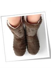 WARM BOOTS BROWN | Escapade Fashion