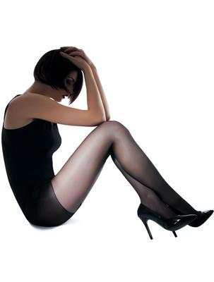 BLACK 40 DEN SIZE 2   Escapade Fashion