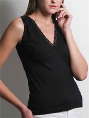 CASUAL TOP BLACK SIZE L | Escapade Fashion