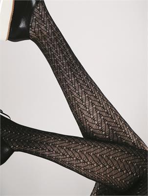 CHIC LACE BLACK 40 DEN SIZE 2 | Escapade Fashion